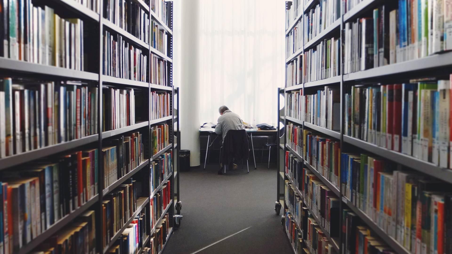 Lernen in der Bibliothek